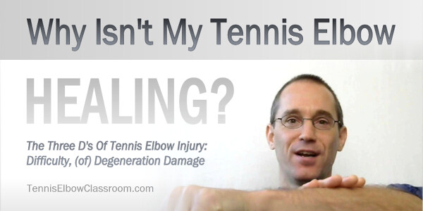Thumbnail for Why Isn't Your Tennis Elbow Healing?