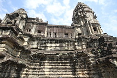 The top level - Angkor Wat (canal.steve) Tags: temple cambodia angkorwat siemreap
