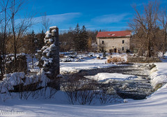 Lonsdale Mill Ruins.jpg (Wolfgrackle) Tags: river salmon mills gristmill ontariomills lonsdale millruins historicmills woolenmill watermills oldmills hastingscounty lonsdalemill tyendinagatownship ontariohistoricmills lonsdalemillruins