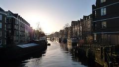 Brouwersgracht maandagochtend (Henry @ WorkCycles) Tags: amsterdam boats canal houseboat boten ochtend jordaan gracht brouwersgracht pakhuis woonboot