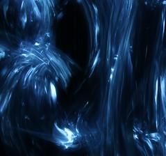 Traces 1 (C Searle) Tags: longexposure blue light lightpainting abstract black texture canon painting long exposure 70d