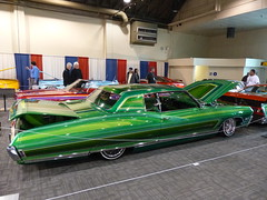 68 Chevrolet Caprice (bballchico) Tags: chevrolet paint 1968 custom lowrider kustom caprise grandnationalroadstershow2014