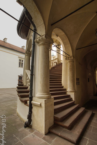 Stairway in the palace yard