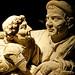 Volterra - urna degli sposi