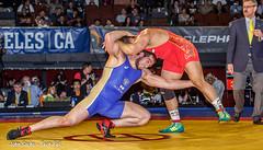 2014 World Cup Iran vs Russia (jrsachs) Tags: freestyle wrestling freestylewrestling fila russiawrestling iranwrestling techfallcom johnsachsphotographer