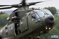 ZK001/AF - AgustaWestland Merlin HC3A - 28(AC)/78 Squadron RAF (KarlADrage) Tags: raf rafbenson dawlishairshow aw101 78sqn merlinhc3a zk001af
