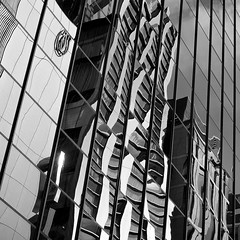 Discord (marco ferrarin) Tags: reflection building window glass architecture photography tokyo ginza olympus diamond jewellery discord debeers em5 marcoferrarin