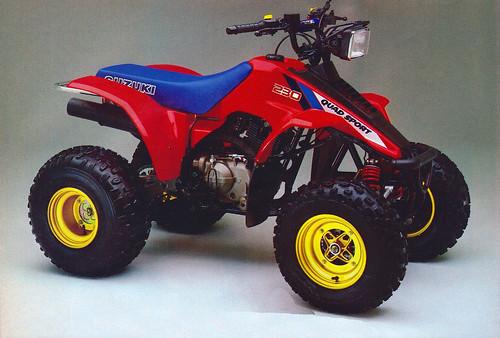 1986 Suzuki Quadsport 230