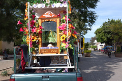 In commemoration of the Saint Juquila _2253 (hkoons) Tags: road street city church saint mexico countryside town highway catholic christ path faith country religion jesus saints streetscene christian transportation christianity roads passage avenue stateofoaxaca