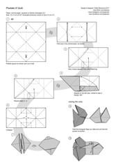 Pixelate it! Page 1 (Dasssa) Tags: origami modular paper rectangle quilt paperain dasaseverova dasssa pixelateit