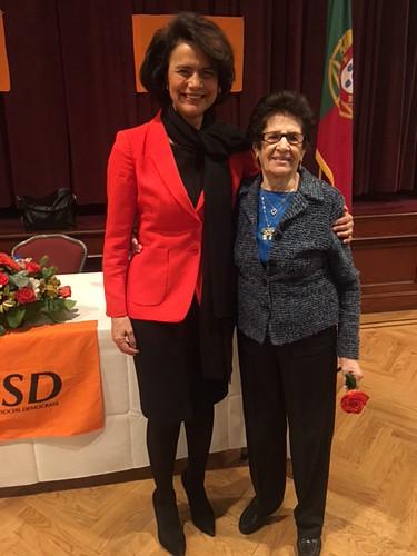 Teresa Morais nos EUA