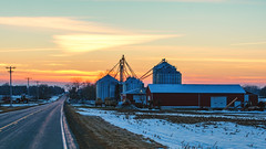 End of the Day (hmthelords) Tags: sunset barn workingfarm upstateny country farm activeassignmentweekly goldenhour bestofweek1 bestofweek2 bestofweek3