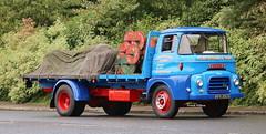 Austin LOaded Doing the job I did Daily Cotton Fields IMG_8410 (Frank Hilton.) Tags: classic truck lorry eight wheel maudsley aec atkinson albion leyalnd bristol austin outside heavy haulage crane 8 axle