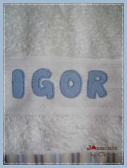 toalha de banho (Joanninha by Chris) Tags: feitoamao handmade ovelhinha enxovalmenino toalhadebanho bordado artesanato