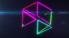 3d Neu Triangles Looping Animation (globalarchive) Tags: seamless electric pattern generated art dj experiment echo party vector triangles fractal power beautiful futuristic effects equation driven computer cool render awesome world high amazing 3d concept abstract cgi fantasy looping virtual best dream energetic duplication contrast animation imagination digital geometric modern feedback loop design model creative neu energy animated