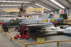 WL168 Meteor RAF (JaffaPix +3 million views-thank you.) Tags: yam yorkshireairmuseum vintage preserved preservation museum museam aeroplane aircraft airplane aviation military davejefferys jaffapix jaffapixcom elvington egyk wl168 meteor raf wk864