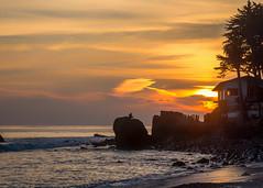 El Pescador State Beach (Eric Zumstein) Tags: elpescador sunset ocean clouds beach malibu landscape sky