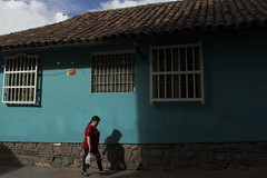 walking woman bogota (Dudu Yang) Tags: colombia bogota travel journey solo oneman color street