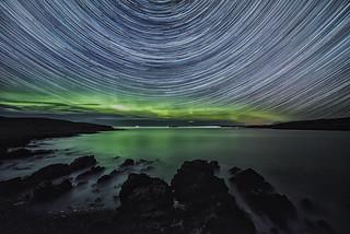 Achnahaird Aurora Startrails