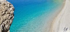 itwantstoreturn... (lucaricchieri) Tags: blueandgreen greenandblue bluesea blue bluewater ilovegreece ilovekarpathos apellasbeach natura nature