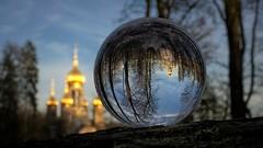 Russian Orthodox Church, Wiesbaden (Parchman Kid (Jerry)) Tags: church wiesbaden germany parchmankid sony a6000 russian orthodox glass crystal ball photography neroberg rheinlandpfalz