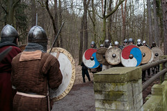 Let's try it again! (Crones) Tags: canon 6d canoneos6d viking vikings czech czechrepublic praha prague canonef24105mmf4lisusm 24105mmf4lisusm 24105mm weapon shield
