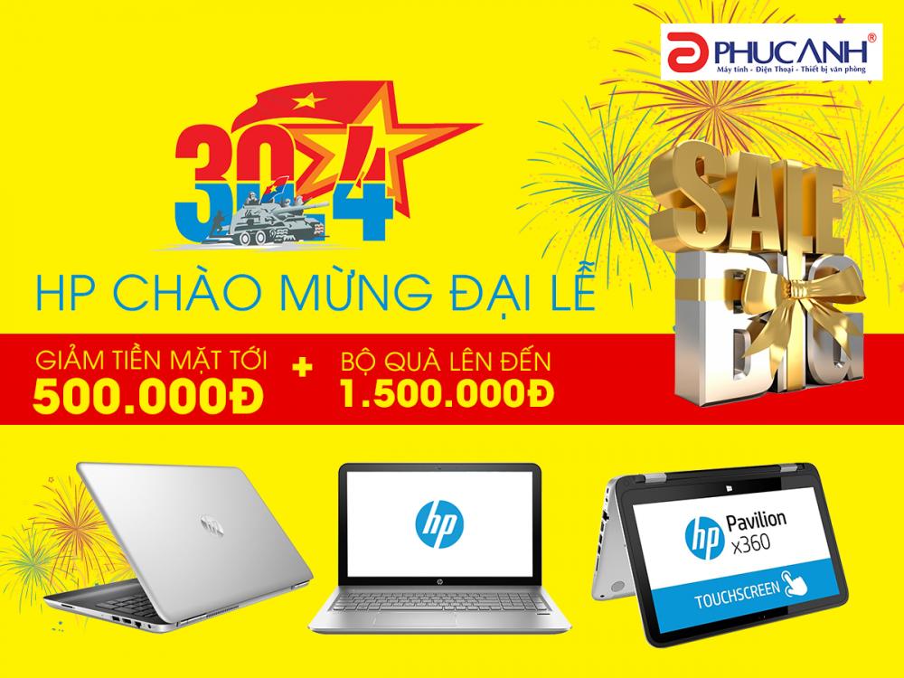 Big sale HP chào mừng đại lễ
