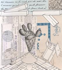 fico d'india (kurberry) Tags: collage analoguecollage vintageephemera cutpaste cut paste