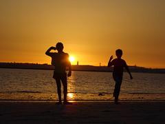 Like a chil , new world back #hope #child #sunset #travel  #starseed #beach (R.Jose) Tags: sunset child starseed hope beach travel