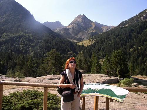 Mirador de Sant Esperit y Bony del Graller. Val de Sant Nicolau.