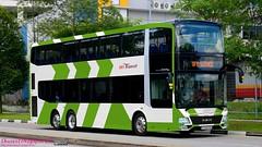 SBS Transit (Lush Green Premium Livery) - MAN A95 (Batch 3) - SG5800M - Bus Service OFF SERVICE (hagenpapa14) Tags: sbs transit lush green premium livery man a95 batch 3 new busesingapore