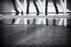 Ciutat de les Arts i de les Ciències (València) (nuriapase) Tags: blackandwhite blancoynegro blancinegre monocrom monocrome black white contrast reflection geometric architecture ciutatdelesartsidelesciéncies valència museum edition art