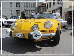 Alpine Renault A 110, 1300G (v8dub) Tags: alpine renault a 110 1300 g schweiz suisse switzerland chavornay french pkw voiture car wagen worldcars auto automobile automotive old oldtimer oldcar klassik classic collector berlinette gordini
