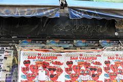 LA NACIONAL (veoletras) Tags: ghost sign ghostsign veoletras comercio rotulo typo typography zine photobook tipo icono madrid grafico diseño