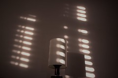 Sunset traces (dina_cvek) Tags: sunset traces window indoors lamp shadow moment photography canon600d natural light sun shades