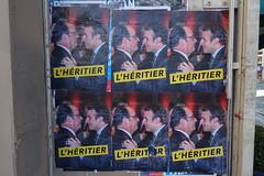 Negative campaigning @ Paris (*_*) Tags: paris france europe city 2017 april 75015 paris15 spring macron fillon election presidentielle ad