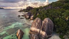 Seychelles - Anse Source d'Argent (030mm-photography) Tags: rot seychelles seychellen africa afrika travel island praslin ladigue ansesourcedargent