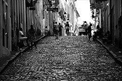 (Fred Matos) Tags: bahia brasil fredmatos salvador blackandwhite brazil ladeira up