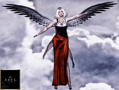 Azul - Aria Garnet_001 (Danity Mynx) Tags: azul danitymynx tableauvivant secondlife secondlifefashion secondlifemodel gowns ascendant angels empire emotions