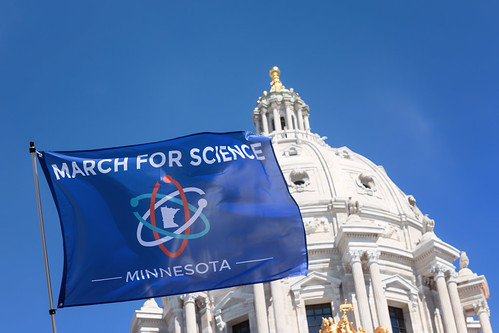 March for Science Minnesota, St Paul MN