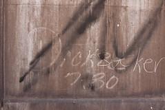 DICKIE (80) (TheGraffitiHunters) Tags: graffiti graff moniker streak markal street art freight train tracks benching benched dickie 1980 80