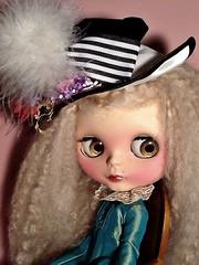 Blythe-a-Day#15. My Fair Lady&#16. Reading&#18. Writing: Ava as Young Miss Havisham