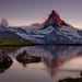 The Matterhorn at dusk