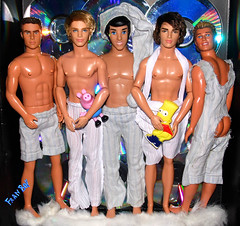 👬🌜 Hora de dormir🌛🌠 (FranBoy Monteiro) Tags: dolls doll toy toys love awesome simpsons bart disney prince ariel eric handsome pijama festa party cute ken barbie gay gayguy gaytoy model models fun fashion beauty girls boys boy guy group toycollector dollcollector collector collection boneca boneco bonecas bonecos clothes figurino handmade diy outfit colorido colorful amor diversão fiesta latino brasil br fashionista fashionistas pretty