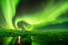 Finale (Ian Allon) Tags: iceland easternregion is auroraborealis northernlights ice lagoon night landscape longexposure sony a6500 samyang