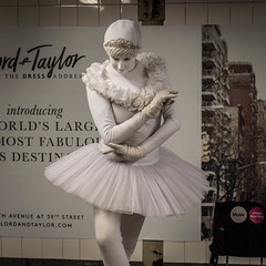 The Ballerina Mime (misterperturbed) Tags: newyork grandcentralterminal