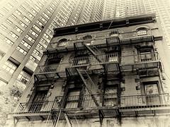 New York (michaelhertel) Tags: newyork manhatten usa amerika travel holiday vacation urlaub buildings bw monochrome sw