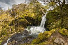 Ceunant Mawr Waterfall (Rob Pitt) Tags: ceunant mawr waterfall llanberis north wales snowdonia river cymru rob pitt photography canon 750d samyang 8mm fisheye spring