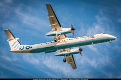 ORY.2014 # BE - Q400 G-JEDM - awp (CHR / AeroWorldpictures Team) Tags: flybe de havilland canada dhc8402q dash 8 cn 4077 engines 2x pwc pw150a reg gjedm history aircraft first flight test cfgnp construction site toronto downsview yzd delivered be bee config cabin y78 bombardier q400 landing planes aircrafts planespotting paris ory lfpo airport france uk 2002 2003 2014 nikon d300s zoomlenses nikkor 70300vr raw lightroom lr5 awp