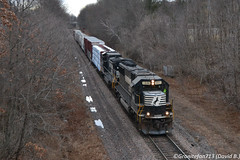 NS 6691 EMD SD60 (10A) (Trucks, Buses, & Trains by granitefan713) Tags: train freighttrain mixedfreight manifest locomotive ns norfolksouthern railroad railfan sunburyline nssunburyline roadtrain emd electromotive emdsd60 sd60 standardcab oldunit